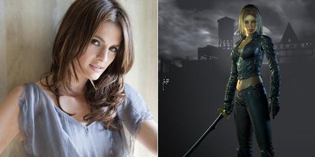 Stana Katic to voice Talia al Ghul in Batman: Arkham City.