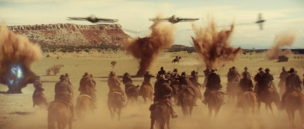 Cowboys & Aliens is a Western at heart with sci-fi flare. All images © Universal Studios and DreamWorks II Distribution Co. LLC