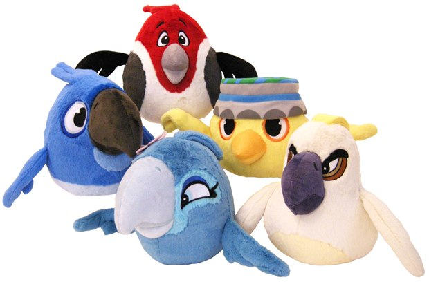 Angry Birds Rio plush