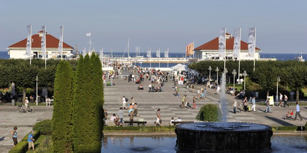 The city of Sopot was one of the top highlights of the 2011 Cartoon Forum.