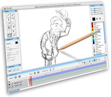 2D software application Pencil.