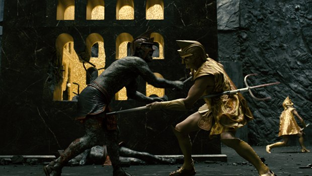 Immortals is a bloody 300-inspired affair. All images courtesy of Tippett Studio.
