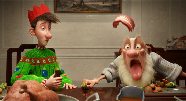 The core story of Arthur Christmas is universal, but the heart is very British. © 2011 CTMG, Inc. All Rights Reserved.