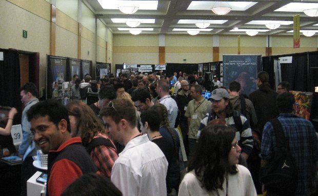 The show floor was packed for 3 solid days.