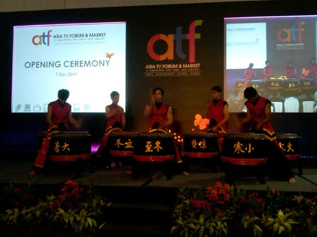 Asian Television Forum opening ceremony