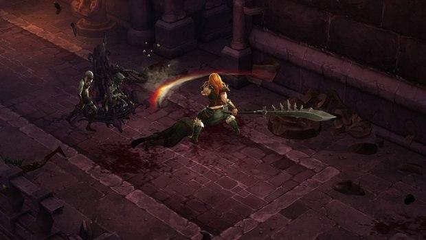 Screencap from Diablo III.