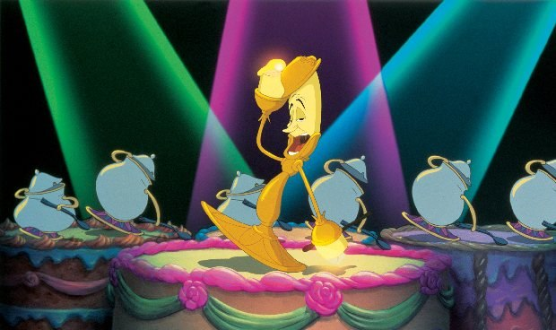 "Disney ""Beauty & the Beast 3D"" Lumiere. ©2011 Disney. All Rights Reserved."