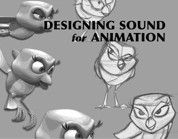 Title page of Designing Sound for Animation by Robin Beauchamp (Focal Press.)