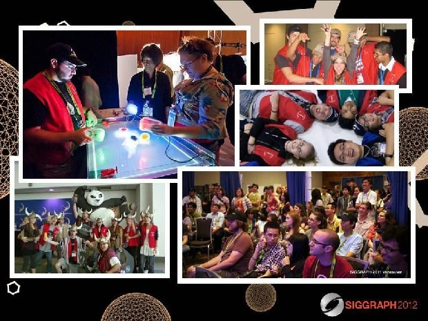 Become a SIGGRAPH Student Volunteer - It's Geek Chic!