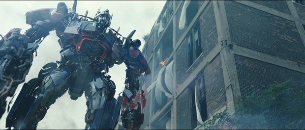 Optimus Prime returned in grand form in Transformers: Dark of the Moon. All Images Courtesy of ILM. © 2011 - Paramount Pictures