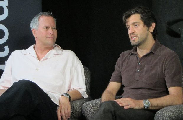 La Luna director, Enrico Casarosa and producer, Kevin Reher.