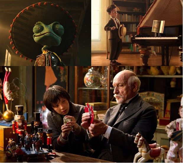 Rango, The Fantastic Flying Books of Mr. Morris Lessmore and Hugo all took home Oscar gold.
