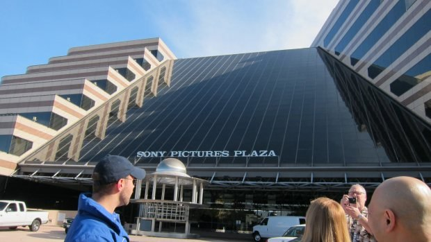 Our most jam-packed tour day began at Sony Pictures.