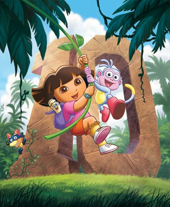 Dora The Explorer. Image courtesy of Nickelodeon.