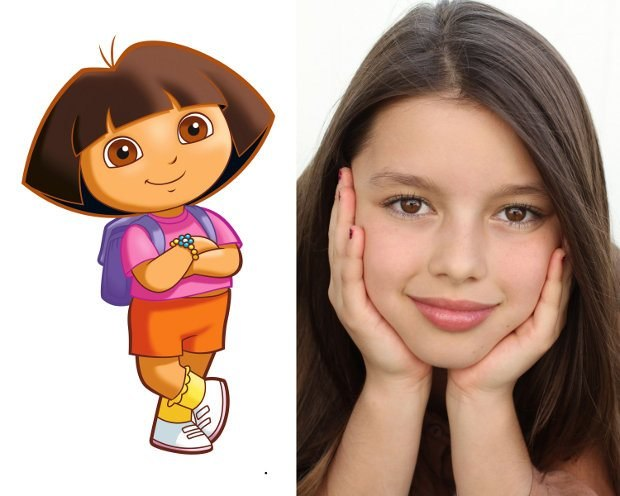 Pictured: Fátima Ptacek voices Dora in DORA THE EXPLORER on NICKELODEON. Photo: Nickelodeon ©2012 Viacom, International, Inc. All Rights Reserved.