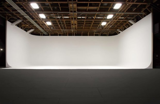 Hollywood Center Studios new cyc stage.