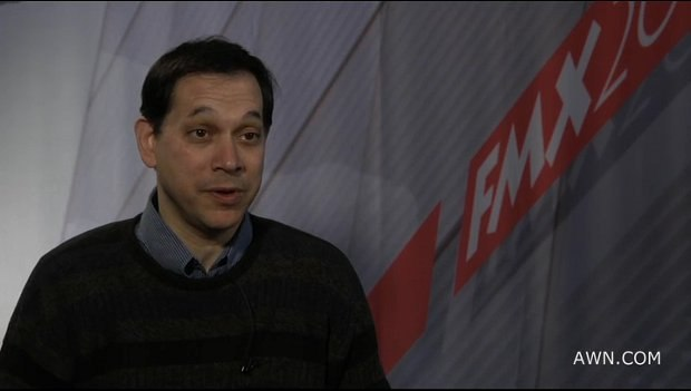 Dr. Perlin being interviewed by AWN at FMX 2011. You can view this interview exclusively on AWNtv.