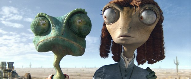 """We got to leverage all our artists who make really realistic things in CG and our animation team and bring all that together. So it was a great fit for us..."" All Rango images courtesy of Paramount Pictures."