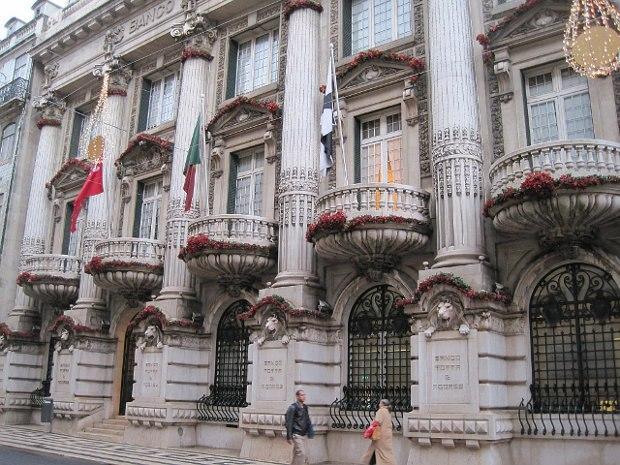 Bank in Lisbon, Portugal