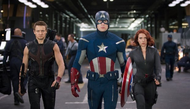 Victoria's latest film, The Avengers will be released next month on May 4th. All images courtesy of Marvel and Paramount.