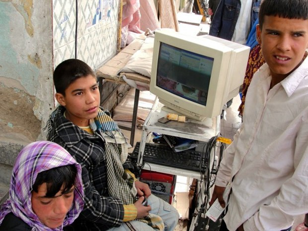 Enterprising street pirates in Kabul eagerly await the new Adobe CS6 release as well as the 25th anniversary Ishtar DVD and Blu-ray combo pack.