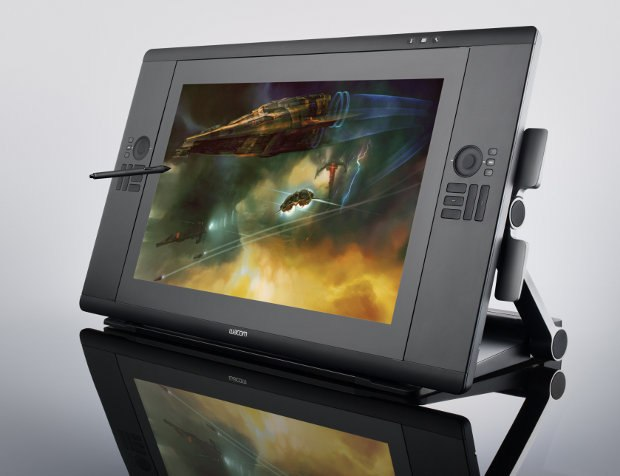 The new Wacom 24HD graphics tablet. All images courtesy of Wacom.