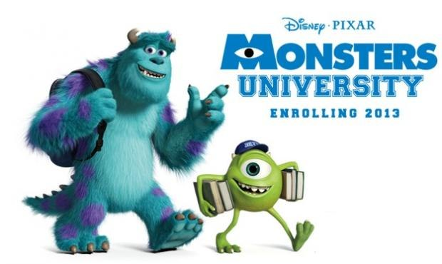monsters university film trailer released animation world network