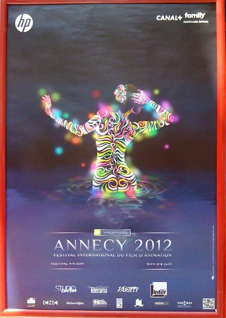 Annecy 2012 poster. All images courtesy of Nancy Phelps.