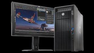 The HP Z820 workstation.