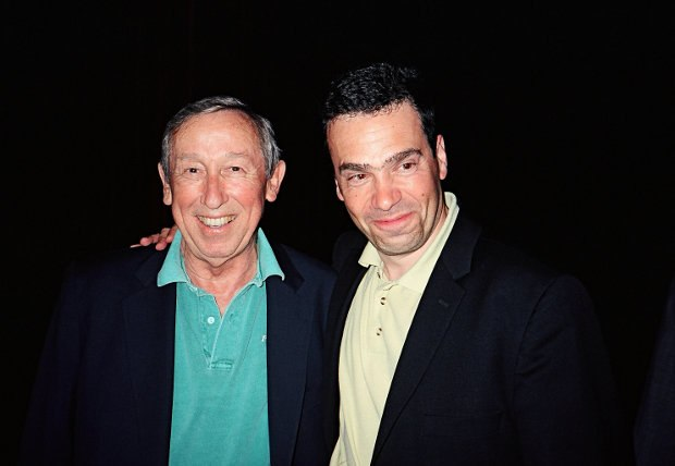Serge with the late Roy Disney in Annecy, 2003. All images (c) AWN, Inc,