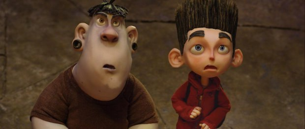 Bully Alvin and Hero-to-be Norman, from ParaNorman. Image courtesy of LAIKA, Inc.