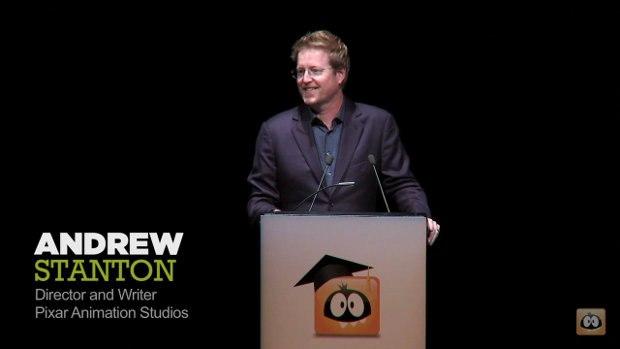 Pixar Director and Writer Andrew Stanton.