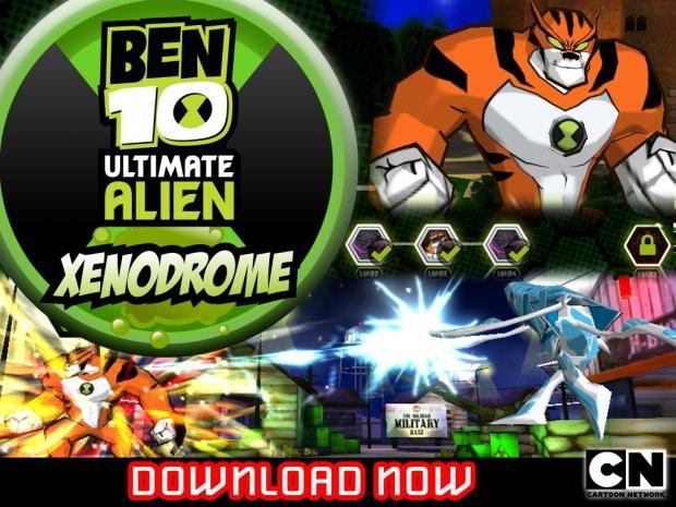 ben 10 new games on cartoon network