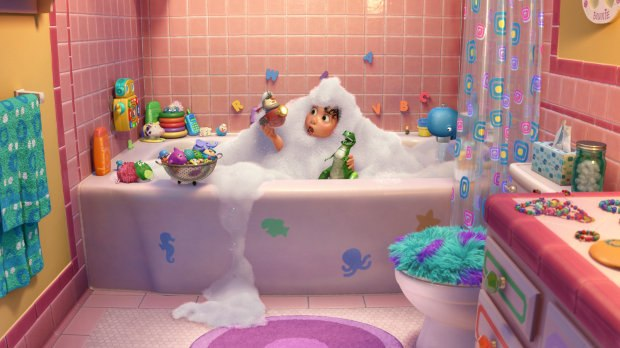Toy Storys Rex Parties In New Short Animation World Network - Party in the bathroom