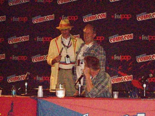 The only Peter Davison Dr. Who cosplay fan at Comic Con meets his inspiration