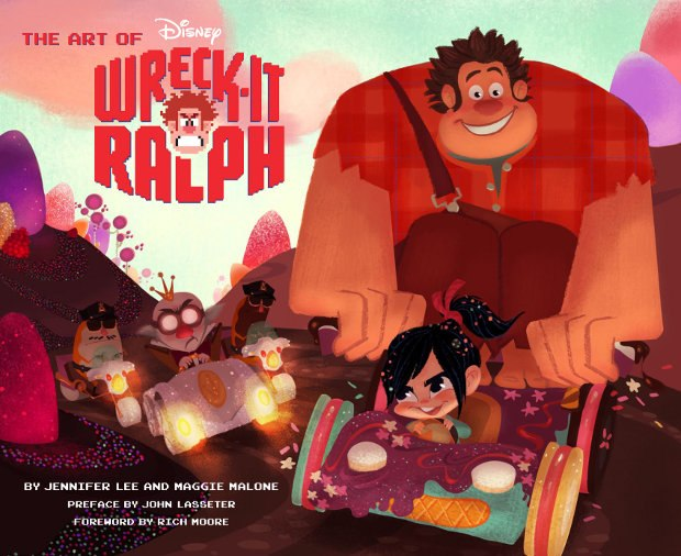 All images from The Art of Wreck-It Ralph by Jennifer Lee and Maggie Malone, published by Chronicle Books.