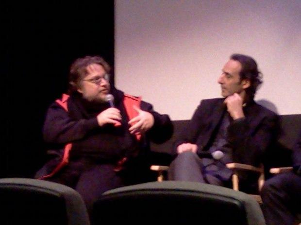 Guillermo del Toro and Alexandre Desplat