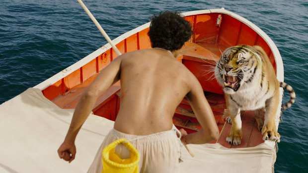 A scene from Life of Pi. Image ™ and © 2012 Twentieth Century Fox Film Corporation. All rights reserved.