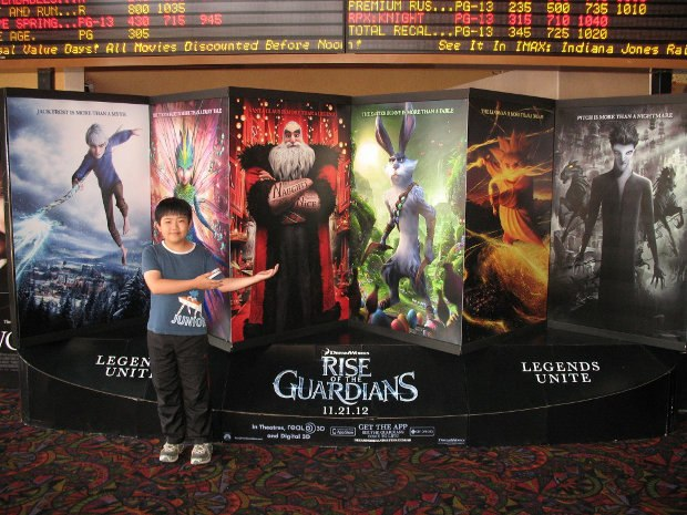 Perry Chen at Rise of the Guardians Press Screening (photo by Zhu Shen)