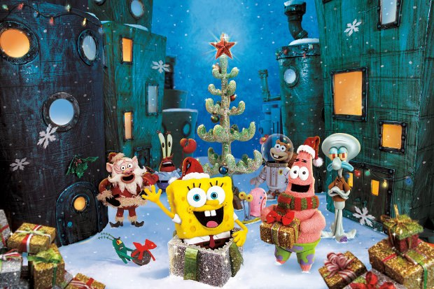 SpongeBob SquarePants stop-motion episodic art. All images courtesy of Nickelodeon.