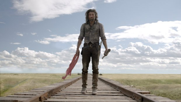 Anson Mount's Cullen Bohannon surveys his work in the Season 2 conclusion of AMC's Hell on Wheels. Except where noted, all images © 2010-2012 AMC Network Entertainment LLC. All rights reserved. Images courtesy of FuseFX.