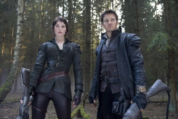Siblings Hansel (Jeremy Renner) and Gretel (Gemma Arterton). All images © 2013 Paramount Pictures. All Rights Reserved.