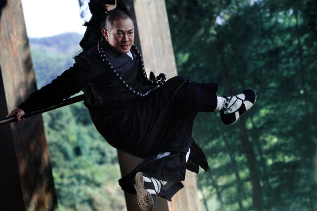 Jet Li in The Sorcerer and the White Snake. Image courtesy of Magnet Releasing.