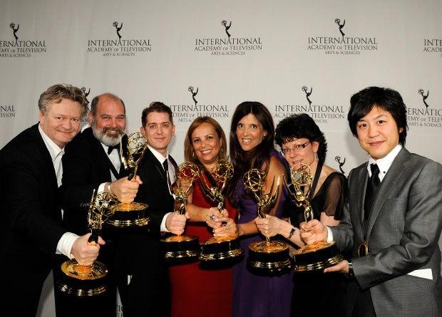 The inaugural award winners.