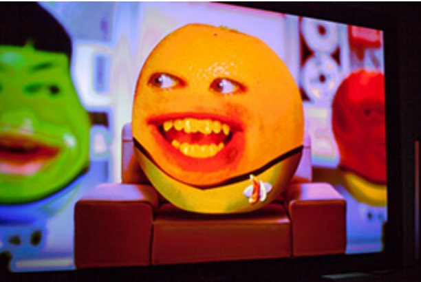 At work on Cartoon Network's Annoying Orange. All images courtesy of Kappa Studios.