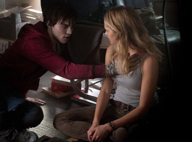 R (Nicholas Hoult) and Julie (Teresa Palmer) discover each other in Summit Entertainment's Warm Bodies. All images © 2012 Summit Entertainment, LLC. All rights reserved.