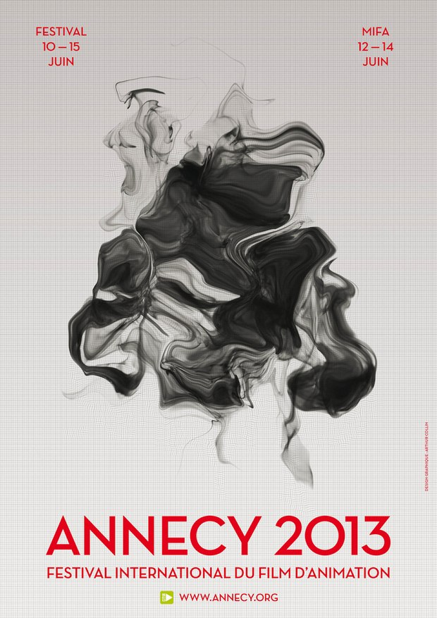 (Annecy 2013 poster design by Arthur Collin)
