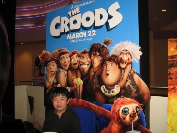 Perry Chen at The Croods press screening (photo by Zhu Shen)