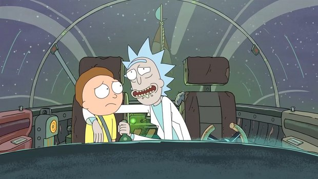 'Rick and Morty' premieres in 2013 on Adult Swim.
