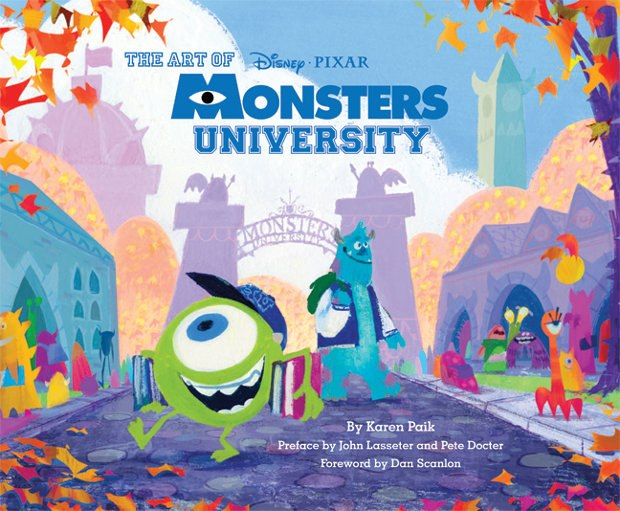 All images from The Art of Monsters University, by Karen Paik provided courtesy of the publisher, Chronicle Books.
